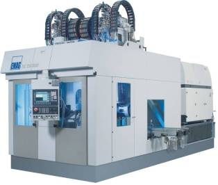 The ELC 250 DUO – a compact laser welding cell for the machining of differential housings. The DUO variant features two spindles. The twin-station operation allows for cycle time-concurrent loading and unloading of the work spindles.