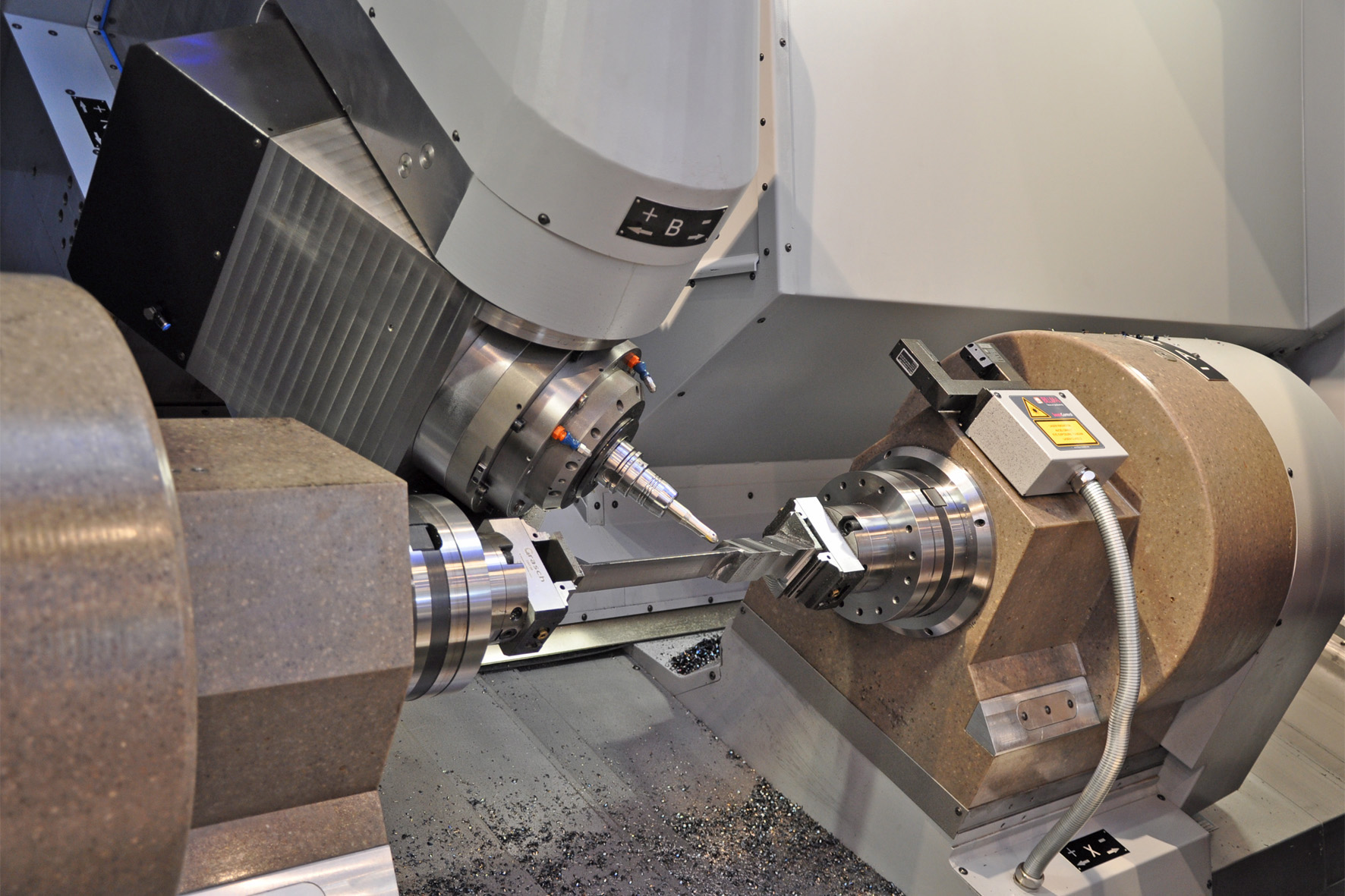 Turbine Blades Produced With Highest Precision