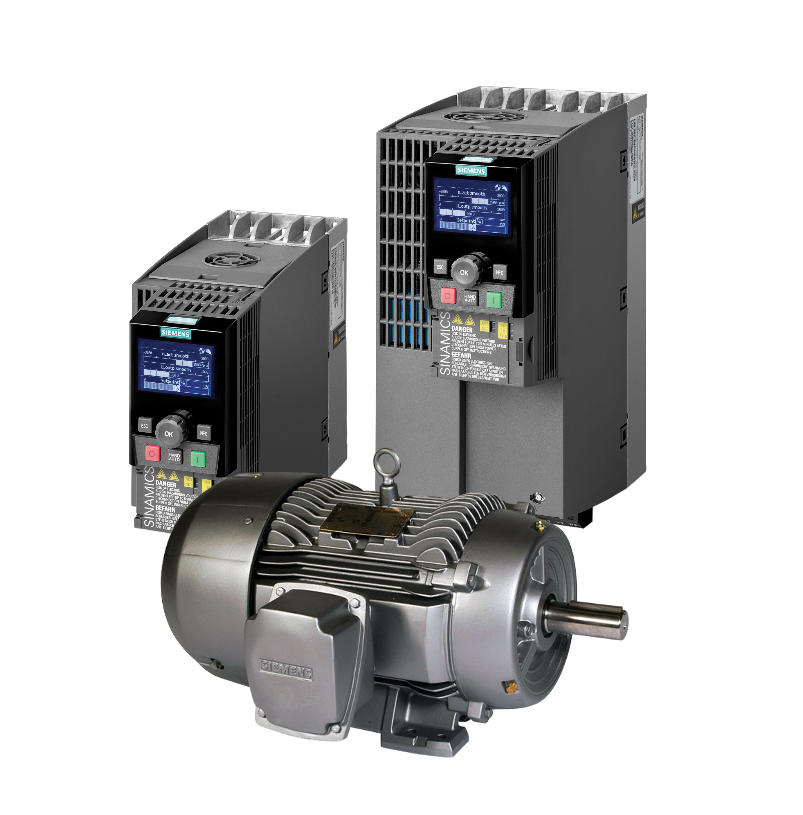 Siemens Introduces Matched Motor Drive Combination Package