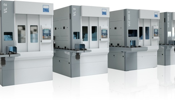 This manufacturing system for gears highlights the modular approach of EMAG's new Modular Standard Machines with easy interlinking, speed and flexibility. Whether turning, hobbing or deburring, the modular design allows every machine to be individually configured to suit the task at hand.
