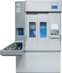 The VL 2 Vertical Turning Machine from EMAG is designed for the quality- and cost-conscious manufacturer and sub-supplier: a universal production aid that impresses with its small footprint and advantageous price-performance ratio – automatic workhandling included.