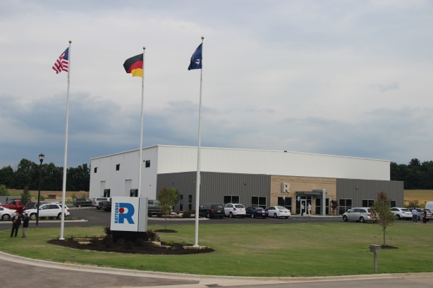 New 30,000 sq. ft. facility officially opened by Rattunde on July 25, 2014.