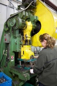 PEM riveting operations