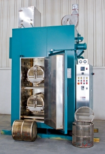 Class 100 cleanroom cabinet oven for curing small rubber pieces | Grieve Corporation