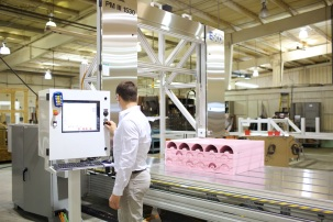 Upgraded Controls On ESCO Machine Help Reduce Urethane Cutting Production Time From 3½ Hours To 20 Minutes | Siemens Machine Tool Systems