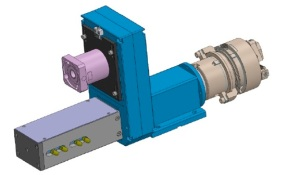 Special unit BEX35 ISO40 equipped with WAGNER Z27-2  thread rolling head | Suhner Industrial Products