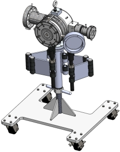 Series 824 Crosshead on Tool Stand