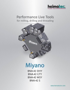 Heimatec live tooling is now available in stock for all the popular models in the Nakamura, Hyundai and Miyano lines.
