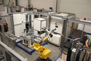 Arnold lasers and various GMTA machine tools are now being integrated into full work cells, mostly in power transmission applications.
